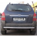 HYTU.55.1233 HYUNDAI TUCSON 2004-2009 REAR BAR STRIGHT