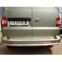 VWT5.57.3818/20 VOLKSWAGEN TRANSPORTER T5 2003+ REAR PROTECTION BAR