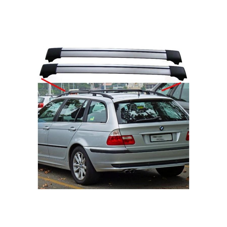 BMW 3 Series E46 From 04.98 Estate Aero Cross Bars Roof Rack Spoiler