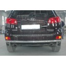Ø60 HYSA.57.3996 HYUNDAI SANTA FE 2006-2010 REAR PROTECTION BAR STRIGHT